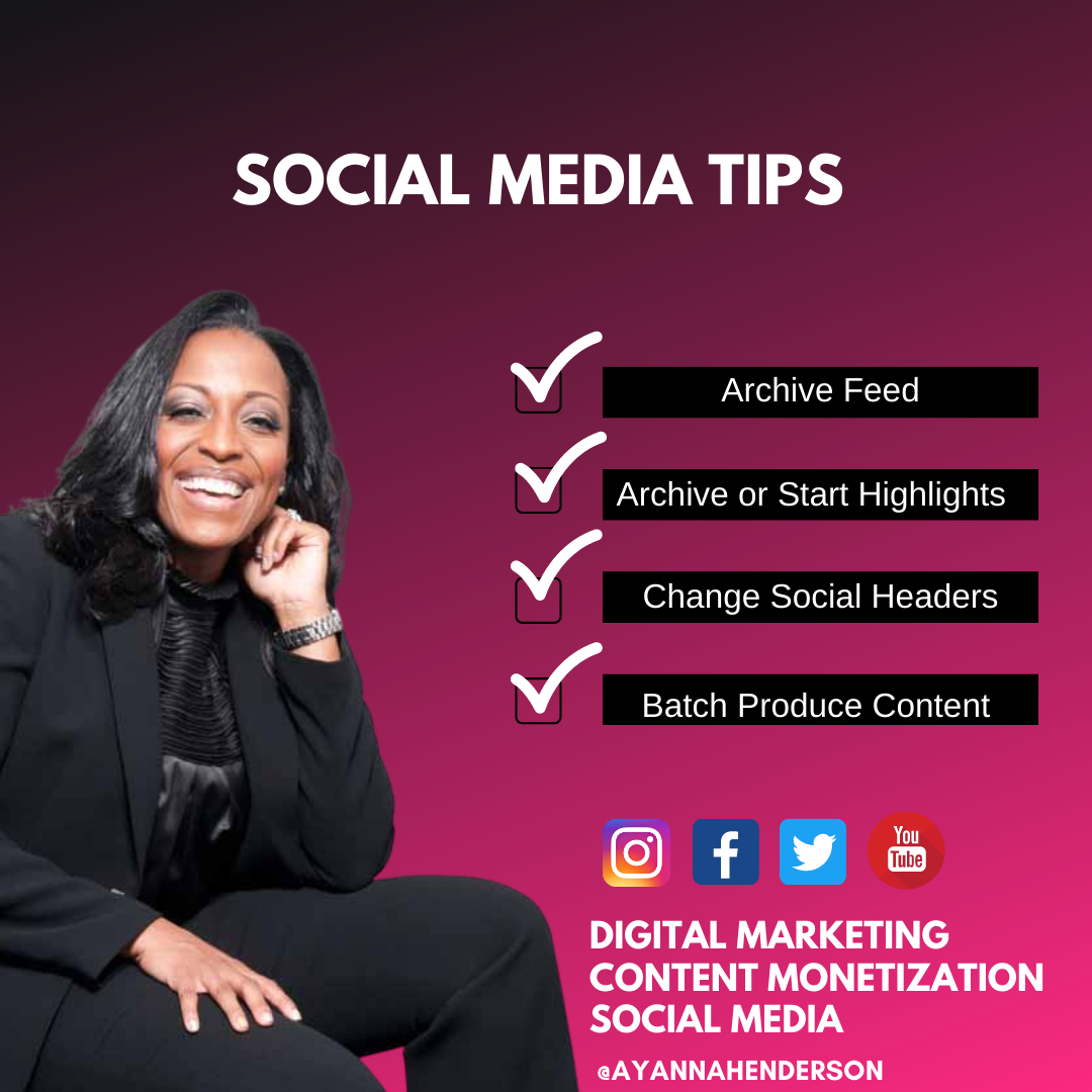 Social Media Tips For The New Year!