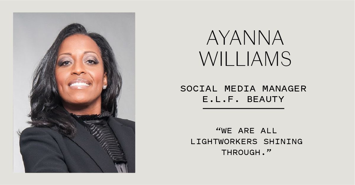 Ayanna Henderson featured by E.L.F. Beauty in celebration of Women's History Month
